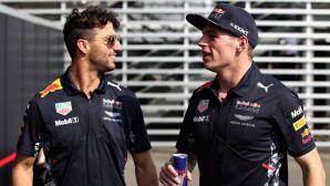 """Верстапен не бърза да види """"грозния"""" ореол във Формула 1 (видео)"""