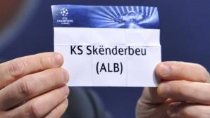 Скендербеу излита от евротурнирите за 10 години