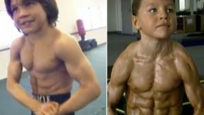 Никога не бихте познали как изглежда сега най-силното дете в света (видео)