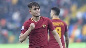 """Рома загря за Шахтьор с победа, млад талант носи """"вълците"""" на гръб (видео)"""