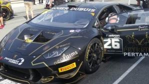 Павел Лефтеров с подиум на Lamborghini Super Trofeo