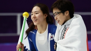 Японка завоюва титлата на 500 метра бързо пързаляне с кънки