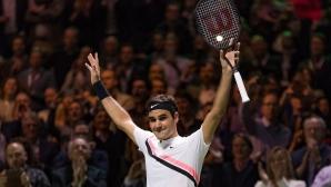 Федерер след победата срещу Григор: Никога няма да забравя тази седмица