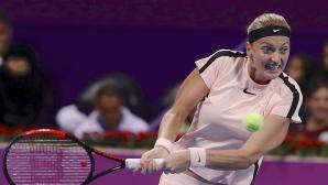 Квитова надви Мугуруса на финала в Доха