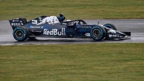 Рикардо излезе на пистата с новия RB14 (видео)