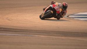 Маркес разкри подробности по двигателя на Honda