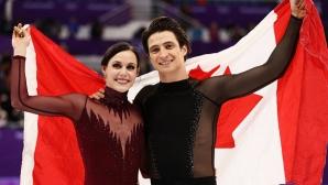 Канадци триумфираха при танцовите двойки със световен рекорд