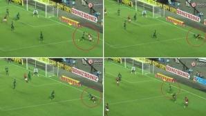 Дете чудо на Реал Мадрид контузи защитник с... финт (видео)