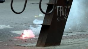 Масови глоби из Първа лига заради факли, димки и бомбички