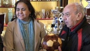 ЦСКА-София запозна посланика на Мароко с историята на ЦСКА