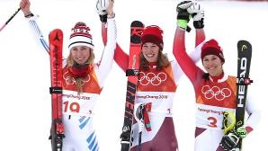 Швейцарка спечели титлата в алпийската комбинация, драма за Линдзи Вон
