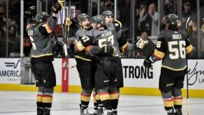 Лас Вегас отново лидер в НХЛ след разгром над Калгари