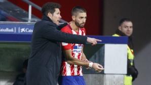 Атлетико Мадрид продава Караско в Китай