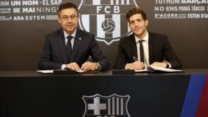 Сержи Роберто предподписа с Барселона