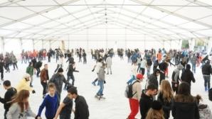 Огромен интерес към спортния празник с безплатни кънки в София