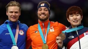 Холандецът Кйелд Нуис спечели втора олимпийска титла в ПьонгЧанг