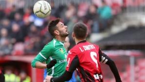 На живо: всички резултати от Втора лига, гол за Царско село