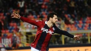 Дестро поведе Болоня към победа срещу Гълъбинов и компания (видео)
