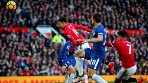Ман Юнайтед - Челси, изборът на Моуриньо и Конте (съставите)