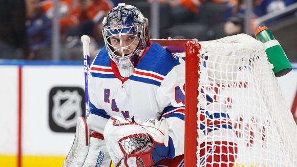 Александър Георгиев с 35 спасявания за Ню Йорк Рейнджърс! Първа българска победа в НХЛ