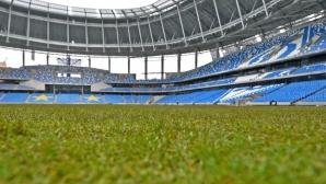 Русия приема Турция на новия стадион на Динамо