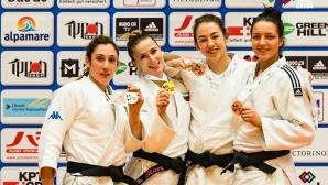 Злато за Ивелина Илиева на Европейската купа по джудо в Цюрих