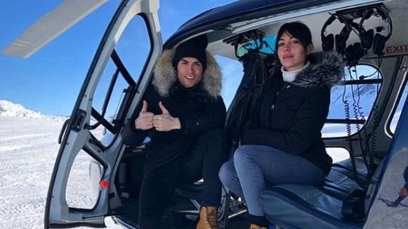 Кристиано и Джорджина се отдадоха на забавления в снега (снимки)