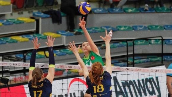 Емилия Димитрова и Бурса много близо до финал в Европа (снимки)