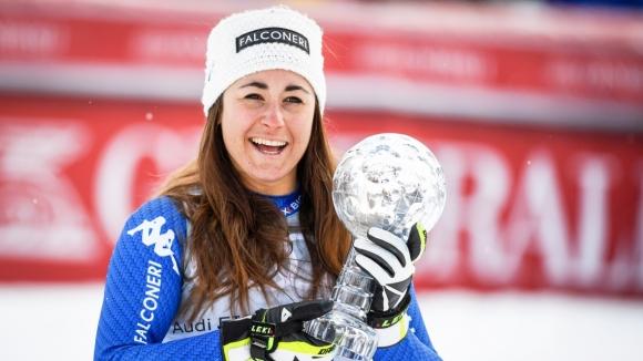 София Годжа спечели Супер-Г в Оре, Тина Вайратер триумфира с малкия Кристален глобус