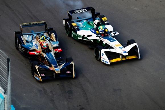 Жан-Ерик Верн победи Ди Граси в най-интересния трилър от Формула Е (видео)