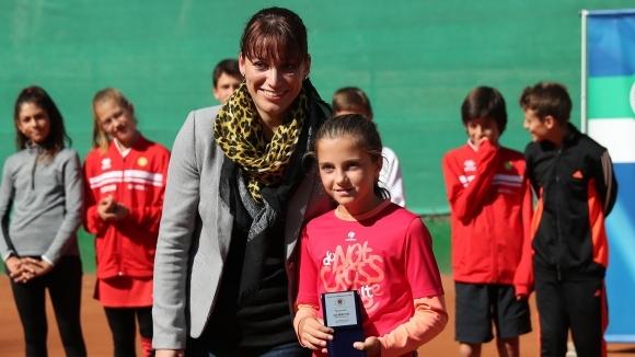 Росица Денчева спечели титлата до 12 години в Анталия