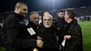 Президентът на ПАОК се извини, искал да предпази феновете