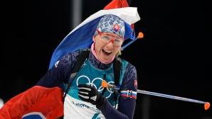 Анастасия Кузмина спечели спринта от Световната купа