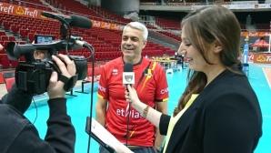 Андреа Анастази е новият селекционер на Белгия