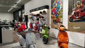 Новият дом на Piaggio, Vespa, Aprilia, Moto Guzzi, Derbi и Gilera отвори врати в София