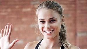 Юлия Левченко смая с красотата си