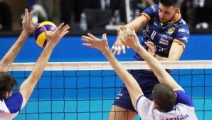 Краси Георгиев и Равена без шанс срещу Малийе Пиянго в първия полуфинал за Чалъндж къп