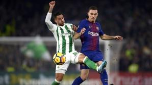 Барса загуби защитник за мача с Атлетик