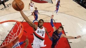 Портланд постигна 12-а поредна победа в НБА