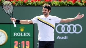 Федерер мина Лендъл по брой финали, но Конърс още е далеч