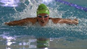 Василики Кадоглу с рекорд на 1500 метра свободен стил