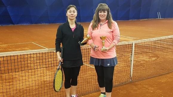 Стефка Бончева триумфира в женския мартенски турнир на Интерактив тенис