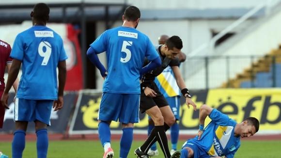 Бойкот в отбор от Първа лига