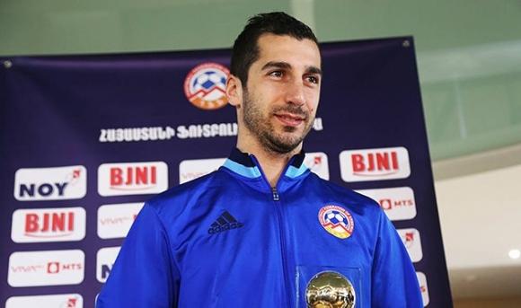 Мхитарян е №1 в Армения за седми пореден път