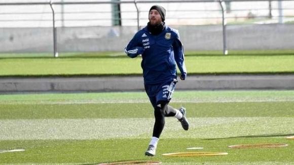 Меси проведе пълноценна тренировка в дома на Реал Мадрид
