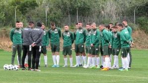 Юношеските национали с първа тренировка в Испания