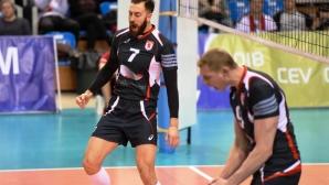 Ники Николов и Белогорие на финал за Купата на CEV
