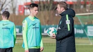 17-годишен българин тренира с първия отбор на Вердер