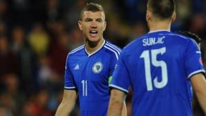 Джеко обясни защо мачът с България е много важен за Босна