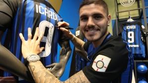Икарди: Най-хубавите ми голове са тези срещу Юве и Милан